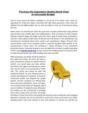 Quality Womb Chair online | Modern Furniture | Scoop.it