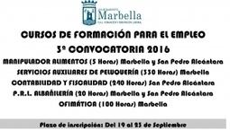 Cursos gratuitos para desempleados en Marbella | Emplé@te 2.0 | Scoop.it