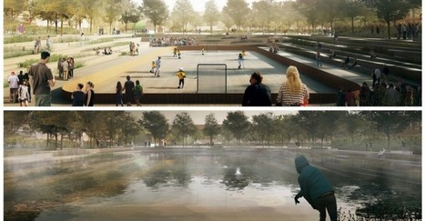 Why Copenhagen Is Building Parks That Can Turn Into Ponds | Mr Hill's Geography | Scoop.it