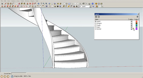 GKWare Stair Maker v1.0.32 for SketchUp | SketchUp Extension Warehouse | Sketchup Style | Scoop.it