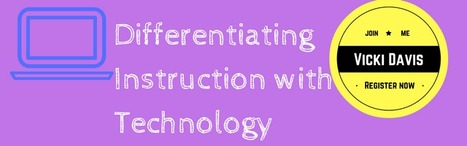 Differentiating Instruction Webinar | tools for learning and teaching | Scoop.it