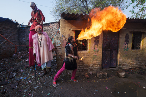 Kathputli colony | Serge Bouvet, photographe reporter | Hitchhiker | Scoop.it