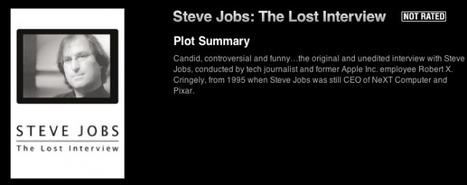 Apple Won't Tell You, But Steve Jobs' Lost Interview Available Now In iTunes | Winning The Internet | Scoop.it