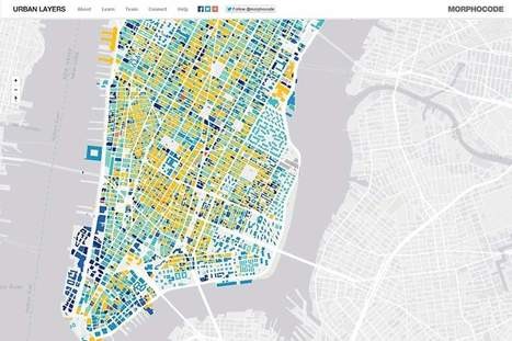Learn the secret history of NYC's buildings with this map | AP HUMAN GEOGRAPHY DIGITAL  STUDY: MIKE BUSARELLO | Scoop.it