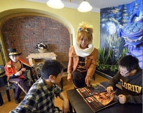 China's MMO Video Game-Inspired Restaurants | Strange days indeed... | Scoop.it