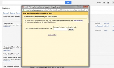 How to send Emails from custom Email address using your Gmail Account? | Blogging | Scoop.it