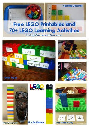 Magnífica recopilación de actividades infantiles con LEGO   Aprendiendo a Distancia   Scoop.it