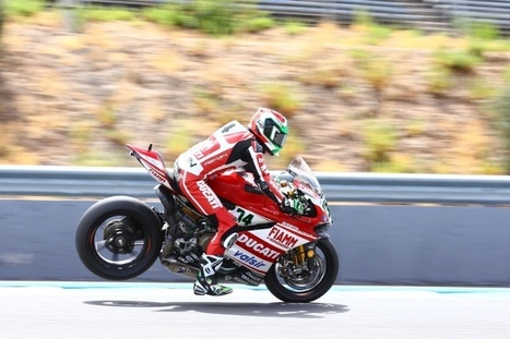 Giugliano pipped to pole, happy with second   Ductalk Ducati News   Scoop.it