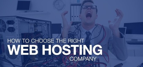 How To Choose The Right Web Host For Your Website? [Infographic] | Design Tips & Tricks | Scoop.it