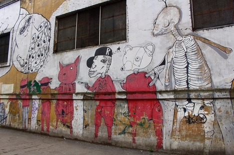5 Cities Full Of Captivating Street Art Around Europe | World of Street & Outdoor Arts | Scoop.it