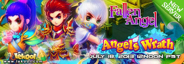 MMORPG Browser Game Angels Wrath New Server 3 Launch | Lekool - Free Online Games Official News | Free Online Games | Scoop.it