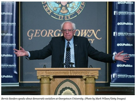 """Bernie Sanders Is Almost Totally A Creation Of The Wealth He Disdains"" 