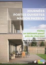 La Maison Passive Journées Portes Ouvertes 2016 : la liste des bâtiments à visiter | conférence expos développement durable énergie | Scoop.it