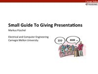 Small Guide to Giving Presentations | Communicate...and how! | Scoop.it
