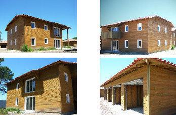 Logements HLM en bois construits par Aboxia à Biscarrosse (40) | Aboxia | Scoop.it