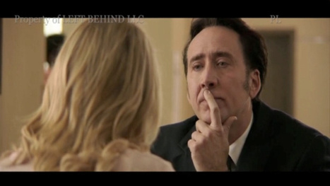 First clip of Nic Cage from the Christian Apocalypse Movie Left Behind | Machinimania | Scoop.it