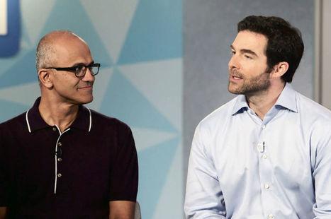 Pourquoi Microsoft rachète LinkedIn pour 26,2 milliards de dollars | Environnement Digital | Scoop.it