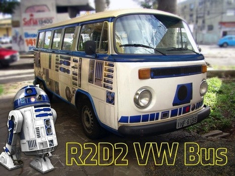 R2-D2 VW Bus #ArtTuesday | Hightech, domotique, robotique et objets connectés sur le Net | Scoop.it
