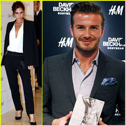 Victoria Beckham Promotes Fashion Line, David Beckham Greets at ... | BlingBling | Scoop.it