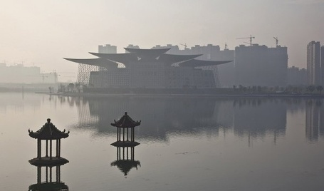 Finland's Wuxi Theater: An Iconic Design that Harvests Rainwater | Air Circulation and Ceiling Fans | Scoop.it