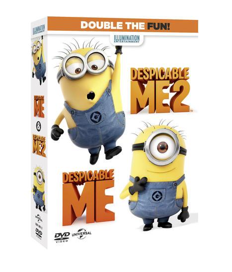 Despicable Me 1 & 2 Movie DVD at Infibeam | Moviesmusicmasti | Scoop.it