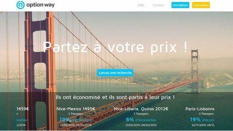 Une start-up française vous propose des billets d'avion «à votre prix»! | Alara | Scoop.it