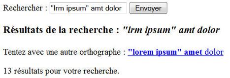 Correction orthographique automatique des requêtes de recherche en PHP objet (POO) | Développement et webdesign | Scoop.it