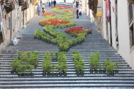 La Scala Infiorata tra le più colorate al mondo | Marketing & Publicity | Scoop.it