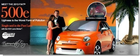 """Fiat 500e Goes """"Sex Sells"""" Route For Commercial − - EV Obsession 