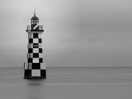 Bretagne - Finistère - Ile-Tudy : phare fou / far phou #2 | photo en Bretagne - Finistère | Scoop.it