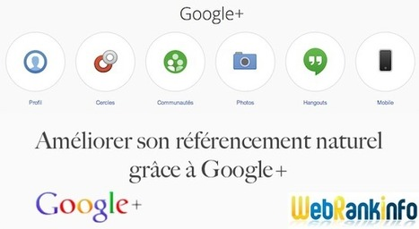 L'impact de #Google+ sur le #référencement naturel #Google (#SEO) | Julien Canepa SEO, SMO, Web marketing... | Scoop.it