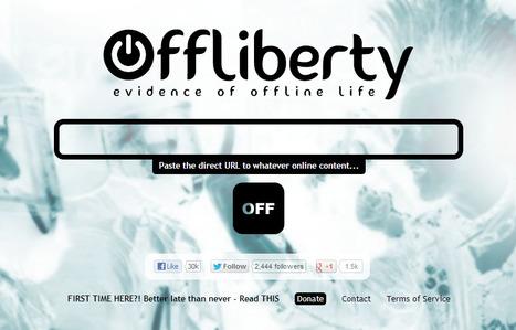 Offliberty - Télécharger les contenus audiovisuels du web | TICE & FLE | Scoop.it