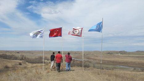 Spirit Camp prayers oppose pipeline | Indigenous Sovereignty | Scoop.it