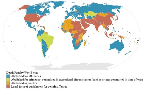Death penalty: Top 5 countries to execute the most people | Think on ... | Capital Punishment | Scoop.it