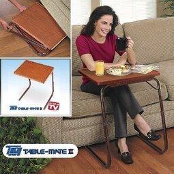 Table-Mate II Woodgrain Folding Table | Home Office Furniture | Scoop.it