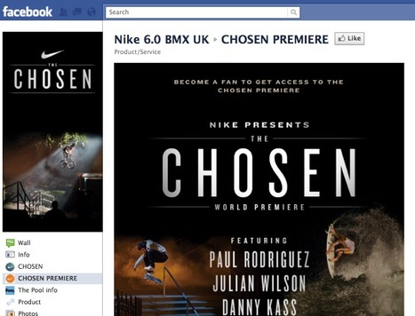 Nike premieres their TV campaign on Facebook | Social_media-casestudies | Scoop.it