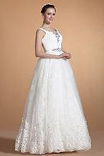 [EUR 119,99] Carlyna 2014 Nouveauté Superbe Perles V-col Robe de Mariée (C37142907) | robe de mariée, robe de soirée | Scoop.it