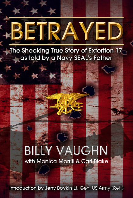 Two years after the greatest loss is Navy SEAL history, the downing of Extortion 17 on 6 August, 2011, the story is about to be told as only a father of a SEAL on-board that mission can tell it.