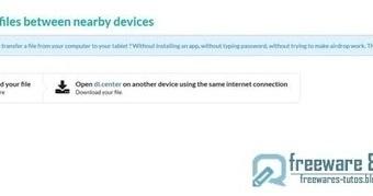 Dl.center : un outil web pour échanger facilement des fichiers entre différents périphériques | Freewares | Scoop.it