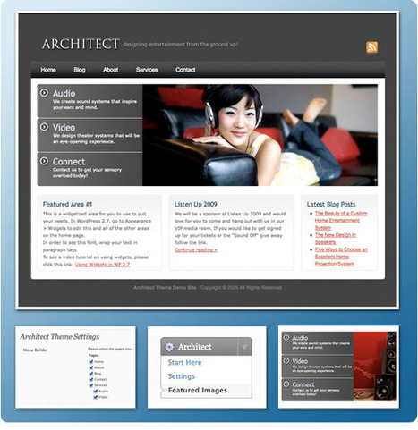 40 Latest Premium Business WordPress Themes   Get your PSD's Converted to HTML   Scoop.it