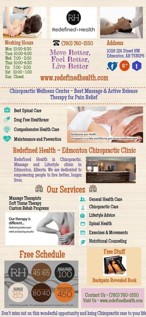 Edmonton Chiropractors Offering Best Chiropractic Therapy in Edmonton | Edmonton Chiropractors - Redefined Health | Scoop.it