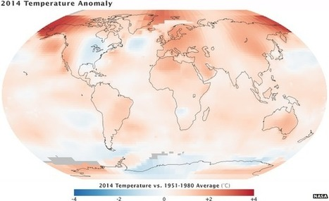2014 warmest on record just ahead of Paris meeting of 2015. But so also 2008 before Copenhagen in 2009   Oven Fresh   Scoop.it