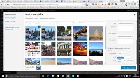 Mettre une image dans du texte sur WordPress | Communication web professionnelle | Scoop.it