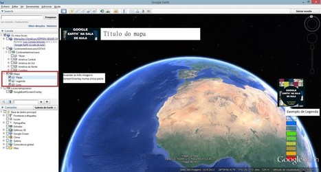 Titulo e legenda nos mapas KML | Google Earth na Sala de Aula | geoinformação | Scoop.it