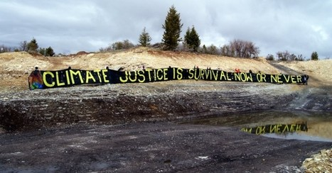 Blockade At First Tar Sands Site In US Challenges 'Brazen Disregard For Climate Crisis' | Sustain Our Earth | Scoop.it