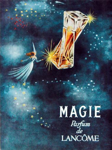Histoire du parfum Magie de Lancôme | Publicités et parfum | Scoop.it