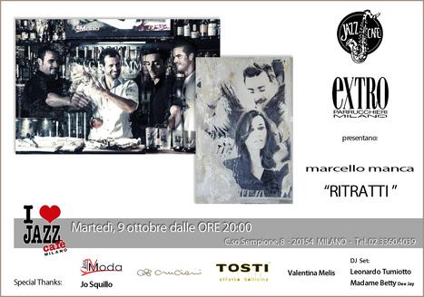 """RITRATTI"" al JAZZ CAFE' | Milano, 9 ottobre 2012 | Garage News | Scoop.it"