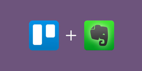 Trello's Evernote Integration: Perfect For Writers With Workflows - Trello Blog | Evernote, gestion de l'information numérique | Scoop.it