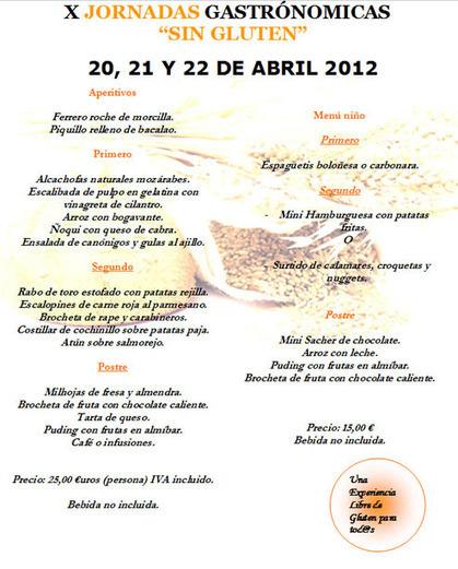 Este fin de semana en Majadahonda (Madrid) jornadas gastronómicas GLUTEN FREE! | Gluten free! | Scoop.it