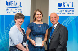 BIALL Wildy Law Librarian of the Year Award 2015 awarded | The BIALL Blog | Library Collaboration | Scoop.it